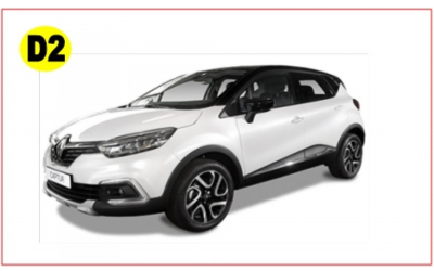 XoroiCars -  R.Captur automatic or similar